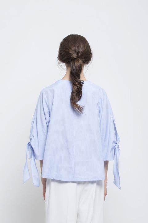 Blue Fumiko Top
