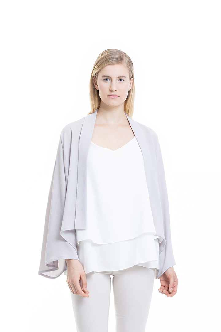 Light Grey Lucia Cardigan