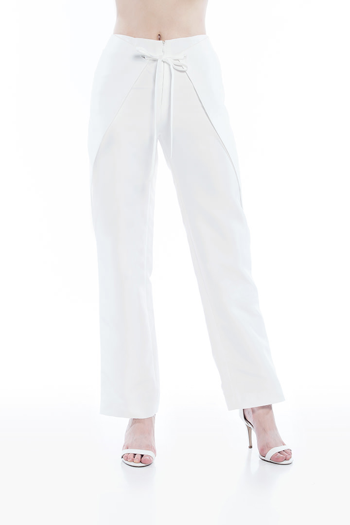 White Jacques Pants