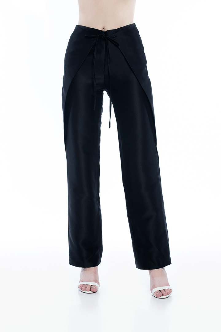 Black Jacques Pants