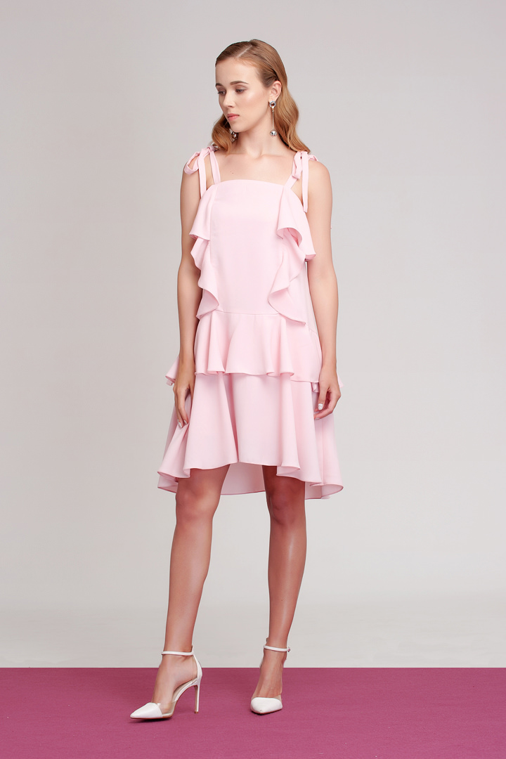 Dusty Pink Loire Dress