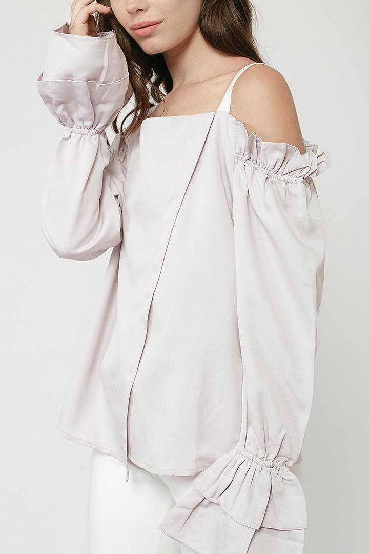 Lilac Grey Joanne Top