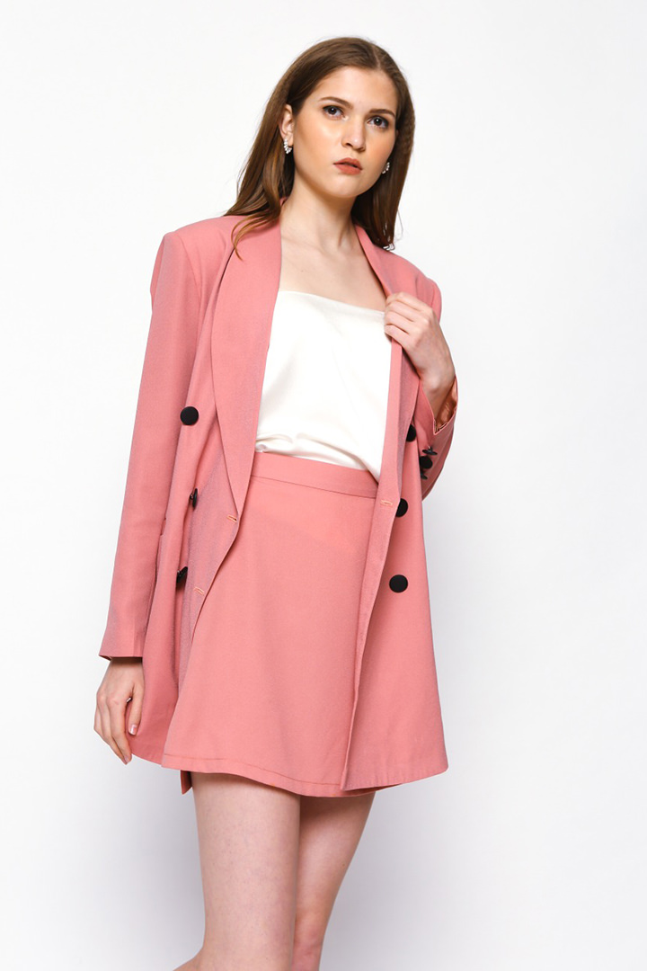 Candy Pink Jane Jacket
