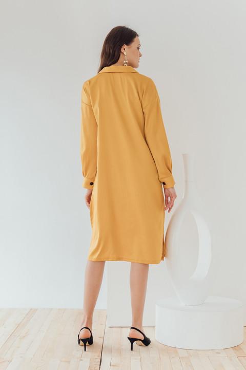 Mustard Maya Dress