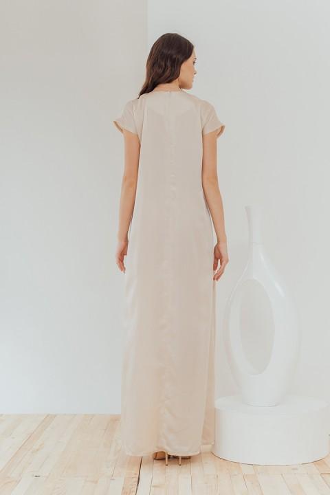 Champagne Quana Dress