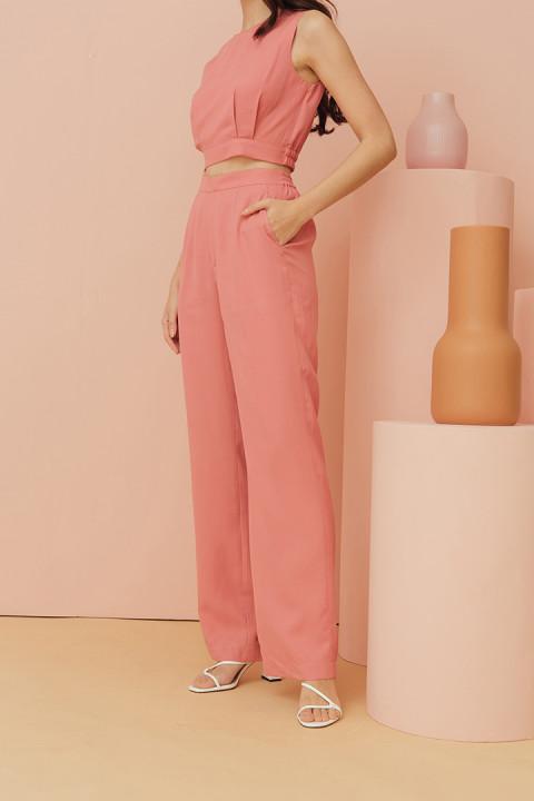Coral Pink Camilla Pants