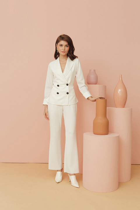 Vanilla White Lucy Jacket