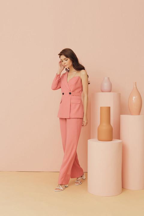Coral Pink Billie Top