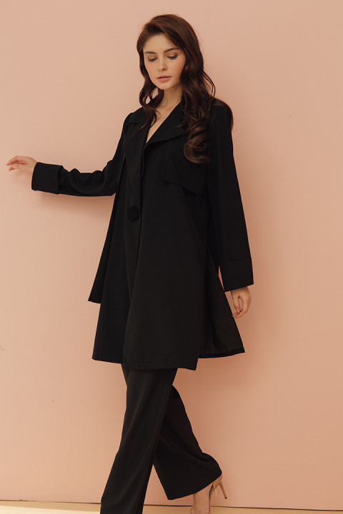 Black Iona Outerwear