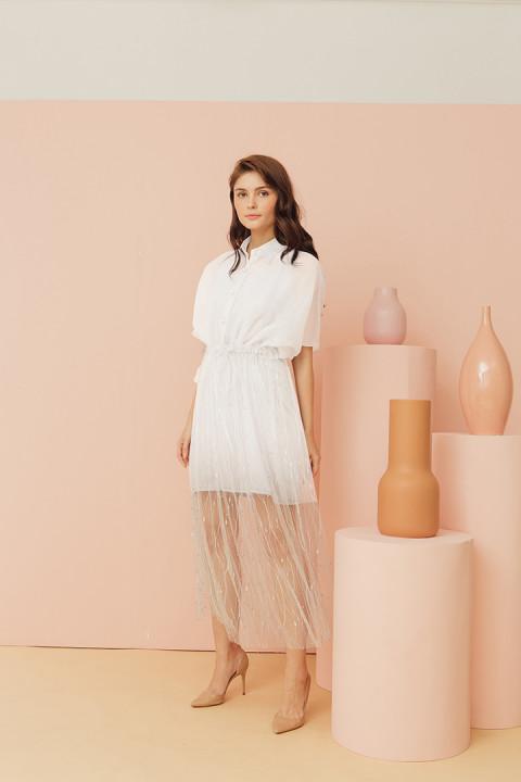 White Min Dress