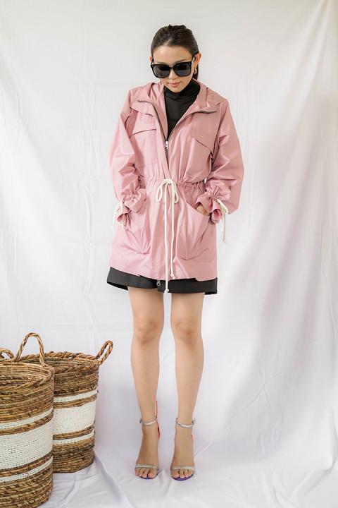 Bubblegum Pink Cova Jacket