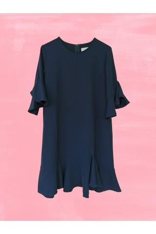 Navy Blue Palma Dress