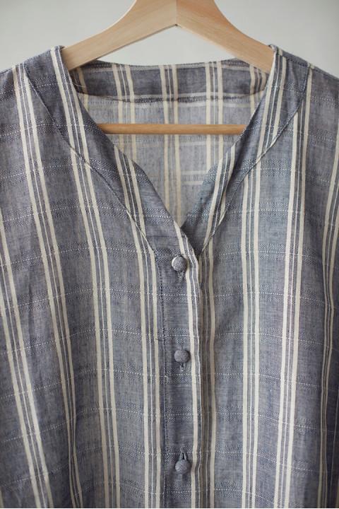 Grey Flannel ARGYLE Top