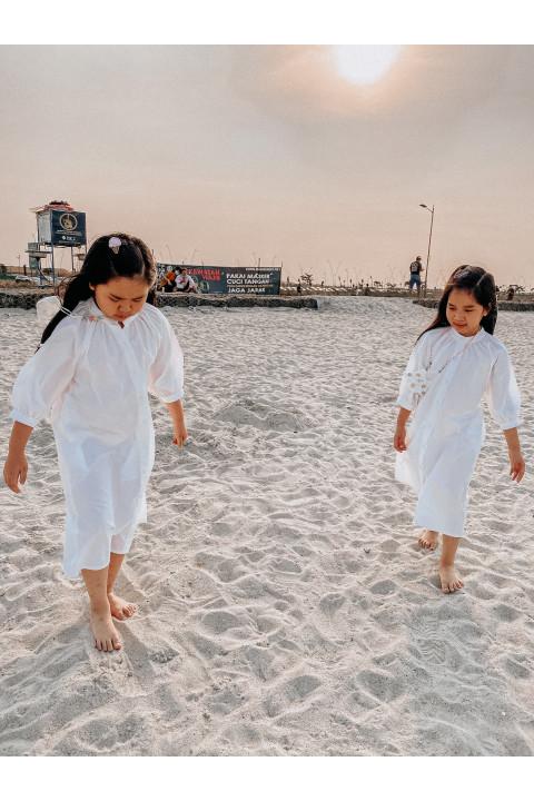 White Eira Dress (For Kid)