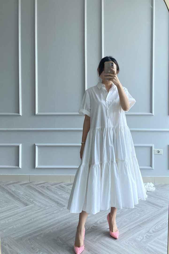 Broken White OZ Dress